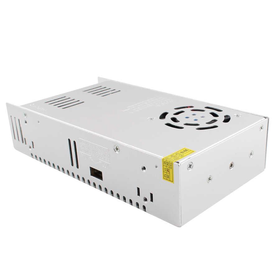 Zasilacz 12V 33A 400W 220 v do 12 v led sterownik do taśmy LED transformator Adapter przełączania transformatory oświetleniowe akcesoria