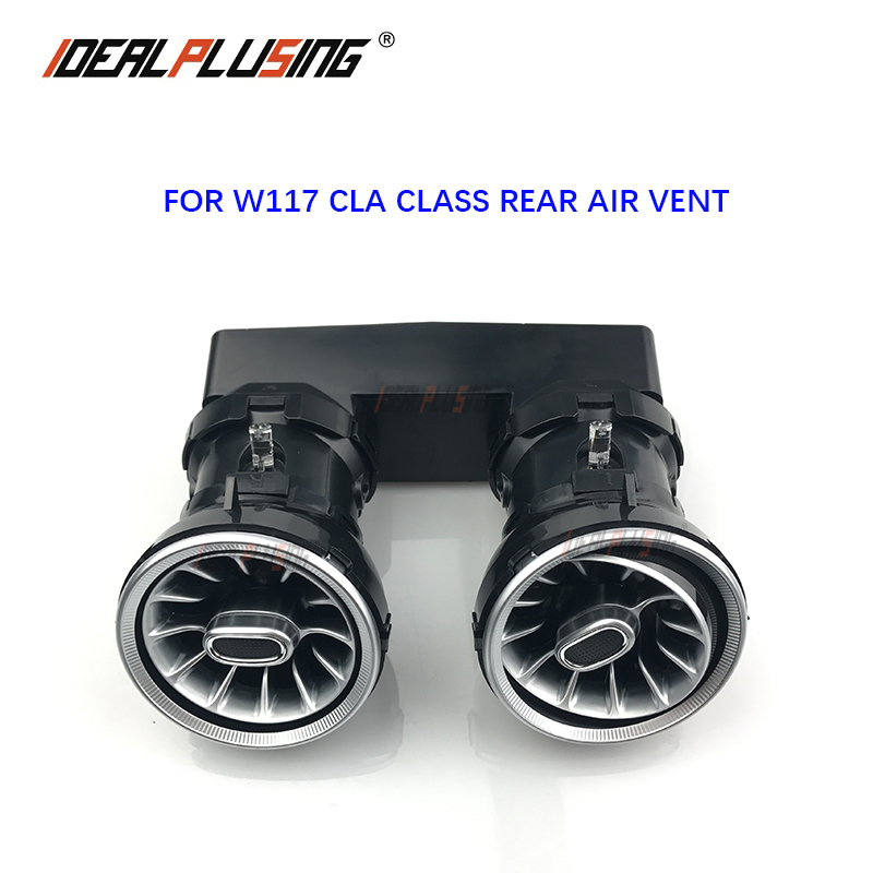 Rear Air Conditioning Vent LED Turbine Ambient Light For Mercedes Benz C /E/ GLC Class W205 W213 X253 LED Atmosphere Light