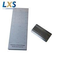 1.25um スケール値 Hegman ゲージダブル溝ステンレス鋼繊度グラインドゲージインク BGD242/1 (0-25um)