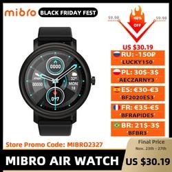 Mibro Air Smart Watch Men Women IP68 Waterproof Bluetooth 5 Sleep Monitor Fitness Heart Rate Tracker SmartWatch Android IOS