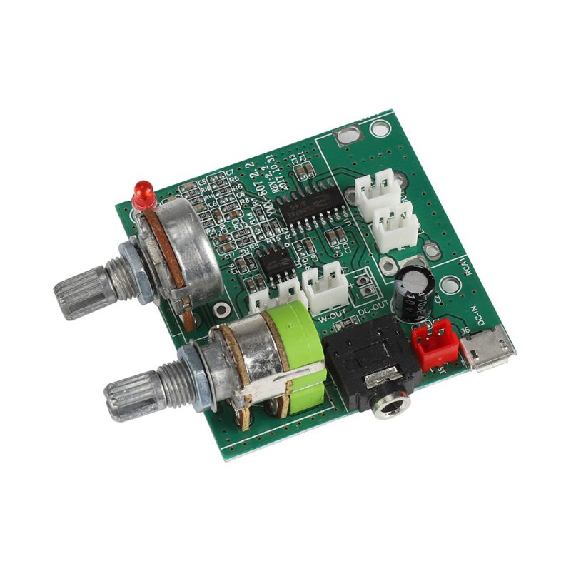 2020 New 20W Class D 2.1 Channel Subwoofer Amplifier Board 3D Surround Digital Stereo Amplifier AMP Board DC 5V T0318 image