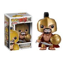 Funko pop King Leónidas 16 # The Movie vinilo acción y figuras de juguete coleccionable modelo de juguete para niños