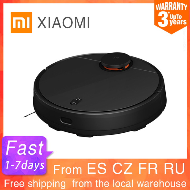 $ US $293.60 New XIAOMI Sweeping Mopping Robot Vacuum Cleaner STYJ02YM for Home Automatic Dust Sterilize Smart Planned WIFI Cyclone suction