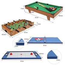 Football Table Games Pingpong Table Soccer Billiards Hockey Tables Party Board Game Desk Interaction Game Kids Player Gift HWC