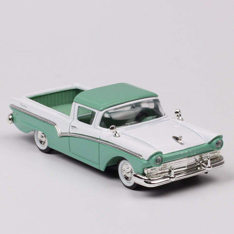 1/43 Scale Small Vintage 1957 FORD RANCHERO Meteor Falcon Diecasts & Toy Vehicles Pickup Truck Car Model Hobby Gift For Children