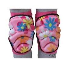 Профессиональные наколенники мягкие эластичные анти-пот ноги защитный рукав бандаж Поддержка протектор для катания на лыжах роликовых коньках для детей