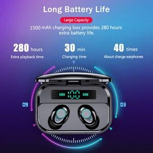 Image 5 - M7 TWS Bluetooth V5.0 Earphone Stereo Wireless Earbuds MINI HIFI Sound Sport Earphones Handsfree Gaming Headset with Mic