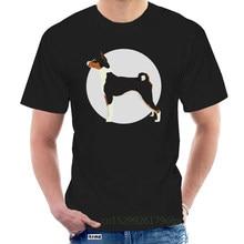 Basenji Dog T-Shirt In White Super Cool High Quality Tee Birthday Gift Tee Shirt @090758