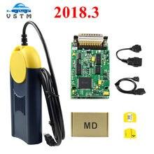 Multi-diag a + + qualidade v2018 multi-di @ g acesso j2534 pass-através do dispositivo obd2 multidiag multi diag v2018 frete grátis