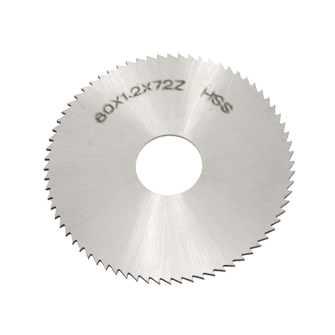 Uxcell 60mm OD 1.2mm Thickness 72T HSS Circular Slitting Saw
