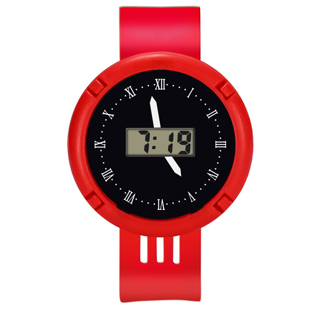 Fashion Kids Casual Electronic Watch Children Comfortable Silicone Sports Watches Fluorescent Watches SSA-19ING