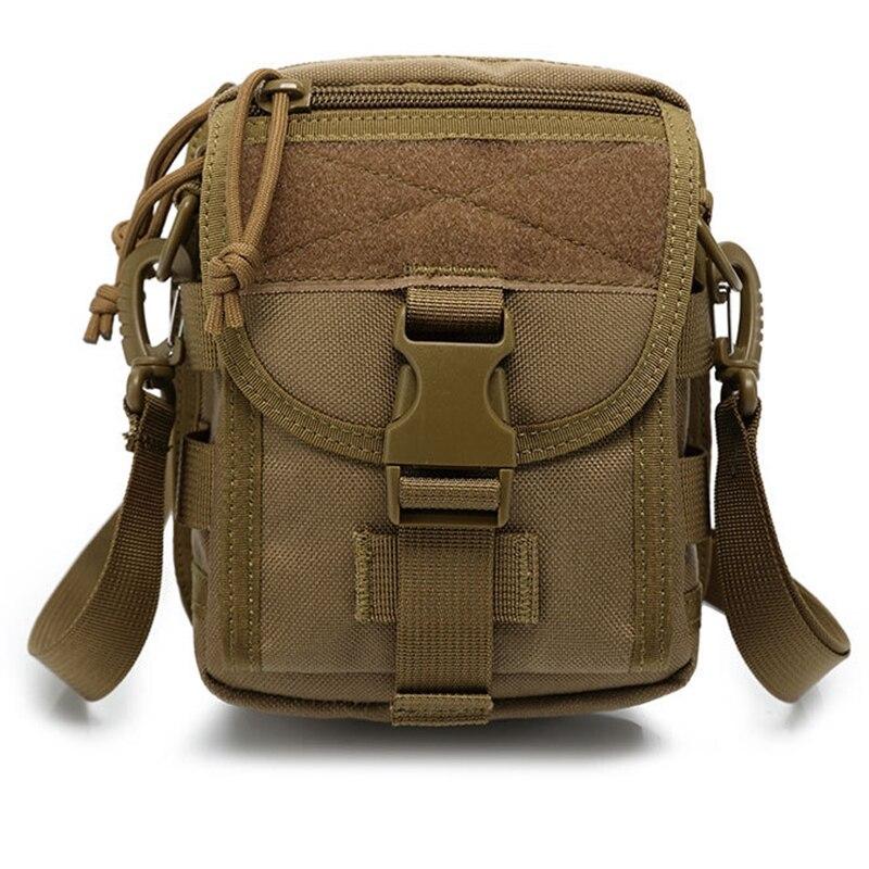 Outdoor Sports Camping Travel Shoulder Bag Pockets Messenger Bag Fishing Camping Multifunctional Bag