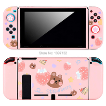 Nintend Switch Thin Slim Protective Soft Skin Case Cover Cute Shell for Nitendo Switch Console for Joy Con (Direct Docking)