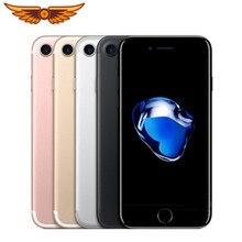 DHL Kostenloser Versand Original iPhone 7 Quad Core 4,7 Zoll 2GB RAM 32/128GB ROM 12MP LTE IOS IPS Touch ID Entsperrt Verwendet Handy