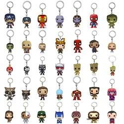 100 PCS Schlüssel Kette Großhandel Marvel Keychain DC Comics Schlüssel Ring Spiel von Thron Schlüssel Kette mit Einzelhandel Box für whosale