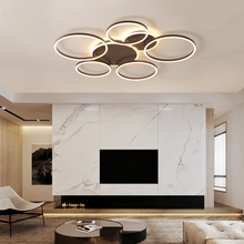 Creative Modern led Ceiling Lights Brown luminaria de teto living room lights Bedroom Ceiling Lamp Home Decor Lighting Lamps huiteman led ceiling lights living room lamps country kids bedroom lamp indoor luminaria home decoration bulbs ceiling lamps