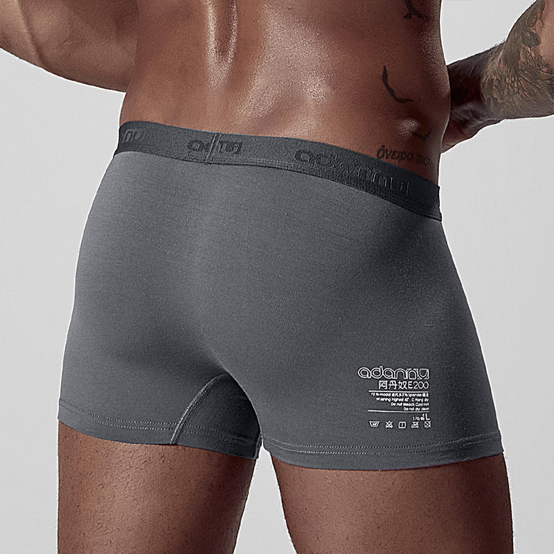 New Arrival Soft Male Sexy Men Underwear Boxer Cueca Male Panties Breathable Cotton Boxer Shorts Cueca Slip Comfortable AD306