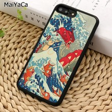 MaiYaCa The Great Wave off Kanto Pokemons Anime Phone Case For iPhone 5 6 7 8 plus 11 Pro X XR XS Max Samsung Galaxy S7 S8 S9(China)