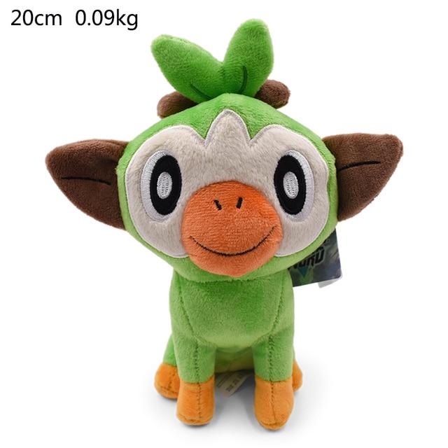 3 Styles 18-33cm Plush Toys Grookey Scorbunny Sobble Anime Cartoon Elf  Plush Soft Stuffed Collection Kid Gift Toys