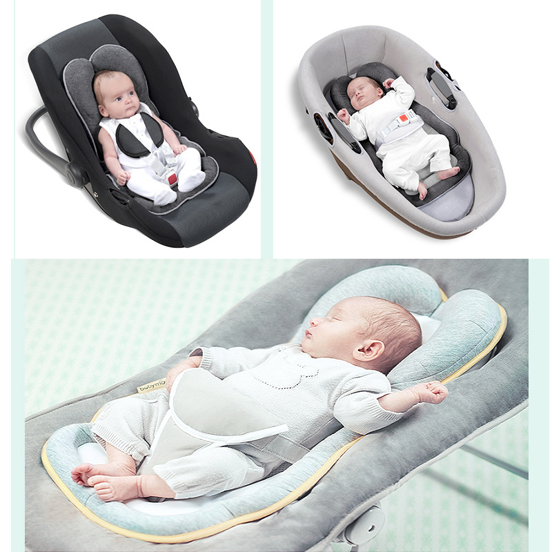 Newborn Stereotype Pillow Infant Anti-rollover Mattress Pillow For 0-12 Month Baby Prevent Flat Head Sleeping Pad Shaping Pillow