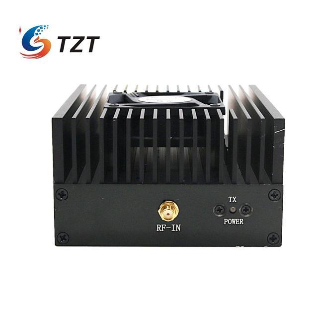 TZT Digital RF Power Amplifier VHF 136 170Mhz 40W Radio DMR Amplifier FM Radio Power Amp