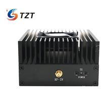 TZT cyfrowy wzmacniacz mocy RF lifier VHF 136 170Mhz 40W wzmacniacz radiowy DMR wzmacniacz mocy radia FM