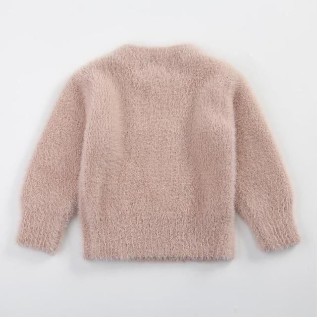 Jersey de cachemira rosa 1