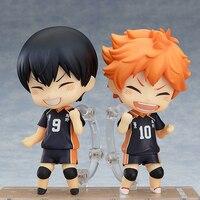 Haikyu Anime Nendoroid Hinata Shoyo #461 Kageyama Tobio #489 figurines mignon jouets collecteur Brinquedos Sport poupée Figurine