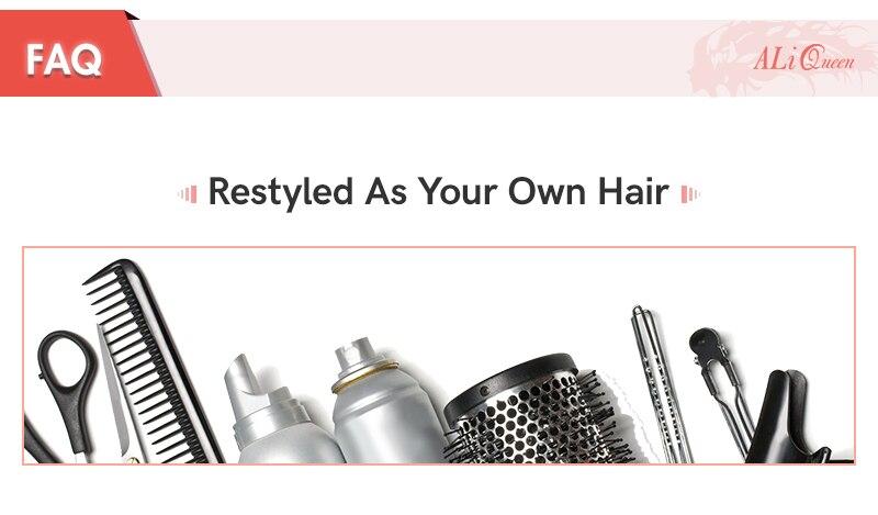 Perucas completas do cabelo humano do laço