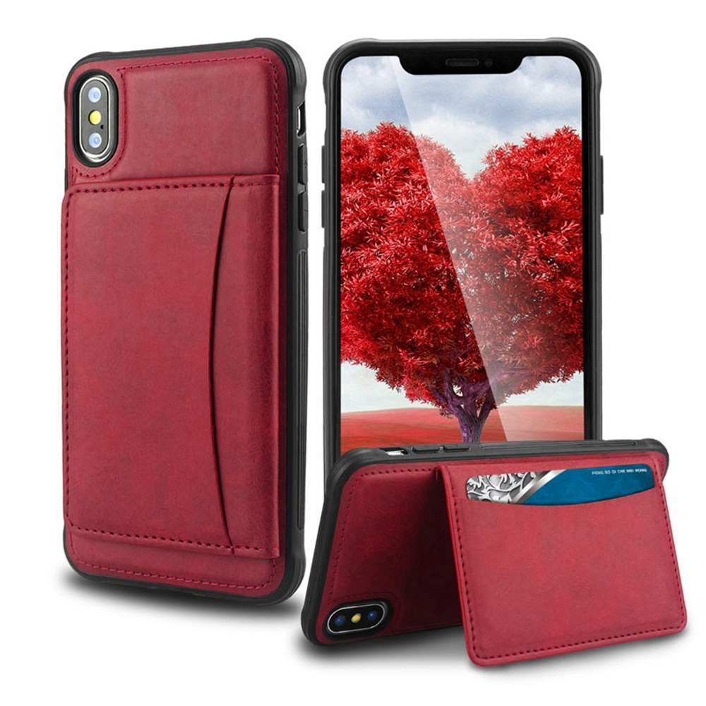 KISSCASE Leather Wallet Case For iPhone 7 8 XR 11 Case Luxury Case For iPhone XS MAX XS X 8 7 Plus 6 6S Plus Cover Fundas Coque
