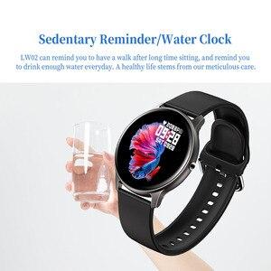 Image 4 - Kaimorui KW19 femmes montre intelligente moniteur de fréquence cardiaque pression artérielle Sport Smartwatch hommes Fitness Tracker connecter Xiaomi Android IO