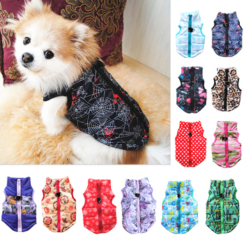 Warm Pet Clothes Winter Pet Coat Jacket For Puppy Pet Dogs Costume Vest Chihuahua Clothes Puppy Outfit Decor XS-XL image