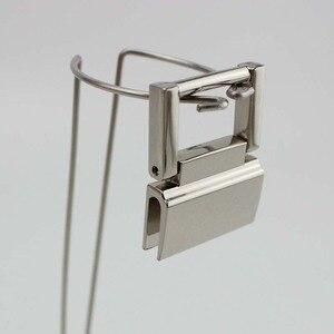 Image 5 - 20pcs 36*28mm 4colors  metal fitting hardware handbag/bags tassel cap clasp square buckle screw connector bag hanger