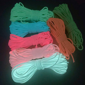 5yards/Lot 2mm Luminous Rope Paracord Parachute Cord Lanyard Rope Mil Spec Type DIY Bracelet Accessories