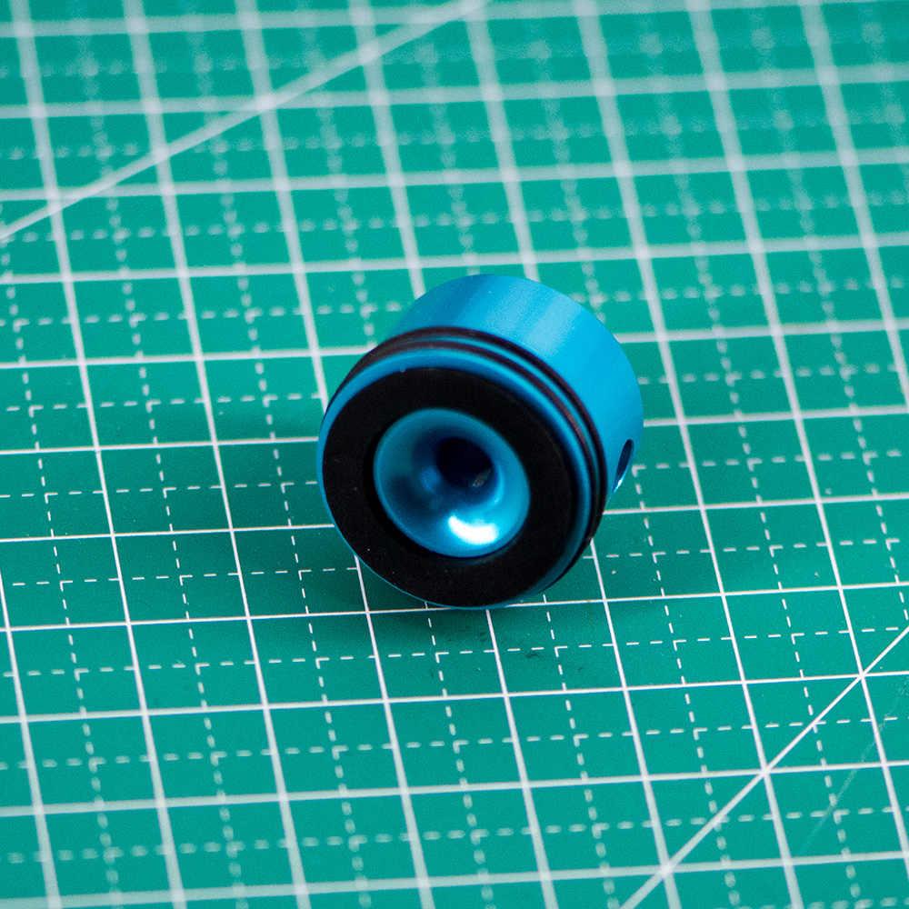 Cnc cabeça de cilindro super silenciosa, de liga de alumínio, conjunto para airsoft aeg m4 gel blaster ver.2/ver.3, caça, exército, paintball acessórios