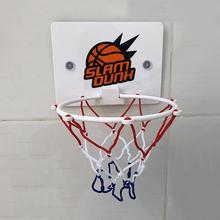 Домашняя портативная забавная мини баскетбольная подставка для игрушки, набор для детей и взрослых