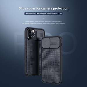 Image 2 - for Apple iPhone 12 Pro Max Phone Case,NILLKIN Camera Protection Slide Protect Cover Lens Protection Case for iPhone 12 Mini 5G