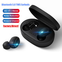 Hi-Fi Stereo TWS Earbuds Sport True Wireless Earphone Bluetooth Headset For iPhone Android Phone i7 tws twins headset true wireless earphone mini bluetooth v4 2 earbuds stereo earplug sport headphone for iphone samsung galaxy