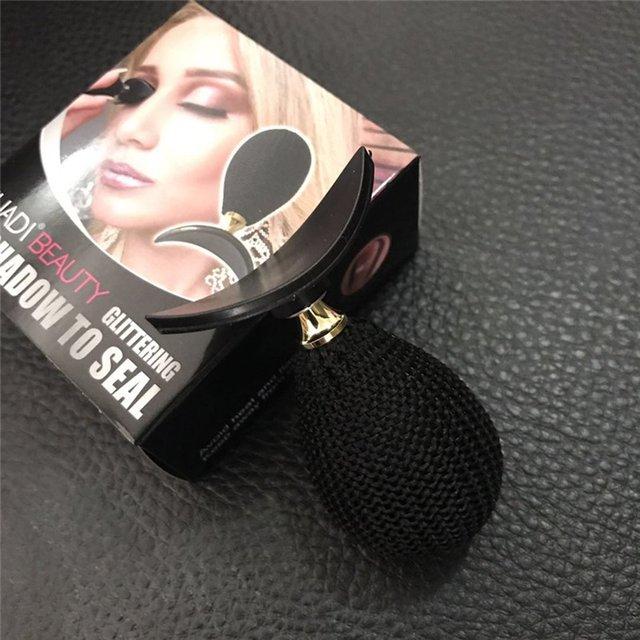 Popular Fashion Eyeshadow Seal Stamp Lazy Makeup Tool Waterproof Stamp Curved Shape Stamper Eyeshadow Makeup Cosmetic Tool 2