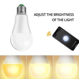 Image 3 - 4 pcs 15W 1800 lm WiFi Ampoule LED E27 B22 Intelligent Light Bulb Dimmable Smart ampolleta wifi Lamp Alexa Google Assistant Echo