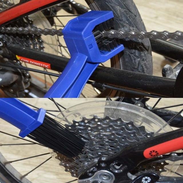 мотоциклетная велосипедная цепь чистящая щетка шестерня grunge фотография