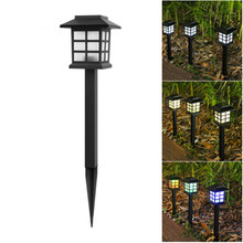 IP65 LED Solar Garten Licht Outdoor Solar Powered Lampe Laterne Wasserdichte Led Landschaft Beleuchtung Pathway Patio Yard Rasen Licht