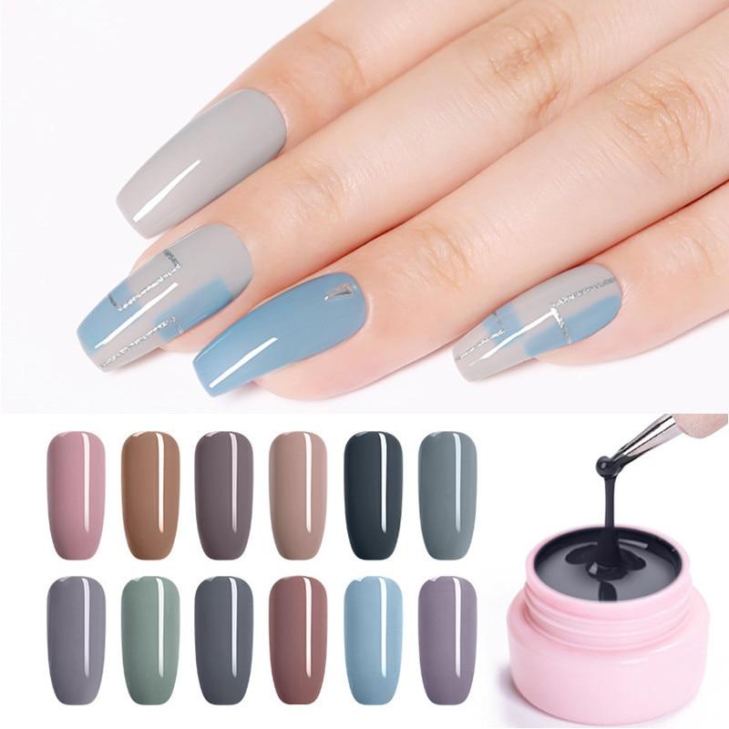 UR SUGAR 5ml Color Gel Polish Autumn Semi Permanent Nail Art Soak Off  UV LED Gel Varnish UV Color Paint Gel  Art
