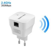 Extensor de alcance de roteador wifi, extensor de alcance repetidor sem fio 802.11n, fácil instalação, expansor de rede, antena sinal booster ap mini envoltório 300mbps