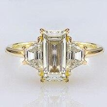 Huitan Simple Classic Design Bridal Wedding Ceremony Rings S