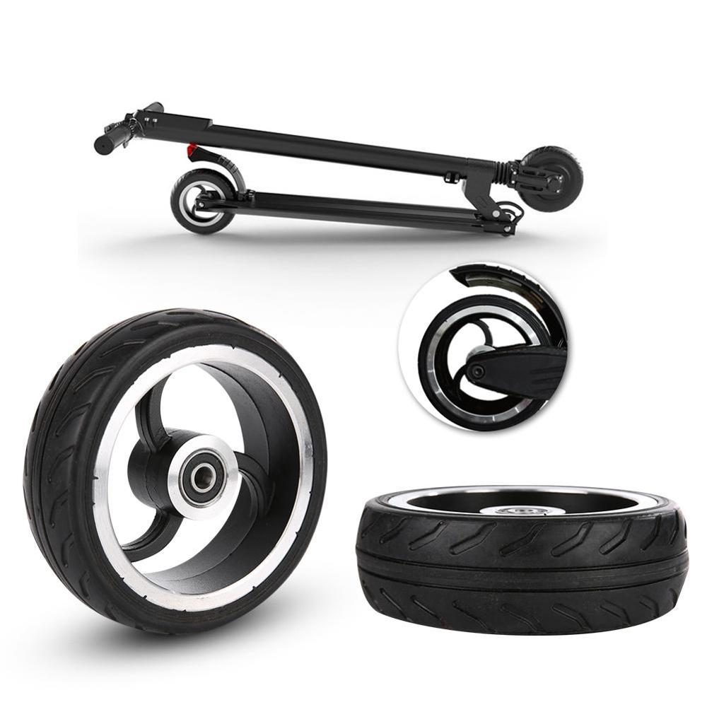 5.5 Inch Scooter Wheel PU Tire For Wheelchair Rear Wheel Factory High Quality Original Aluminum Alloy Rubber
