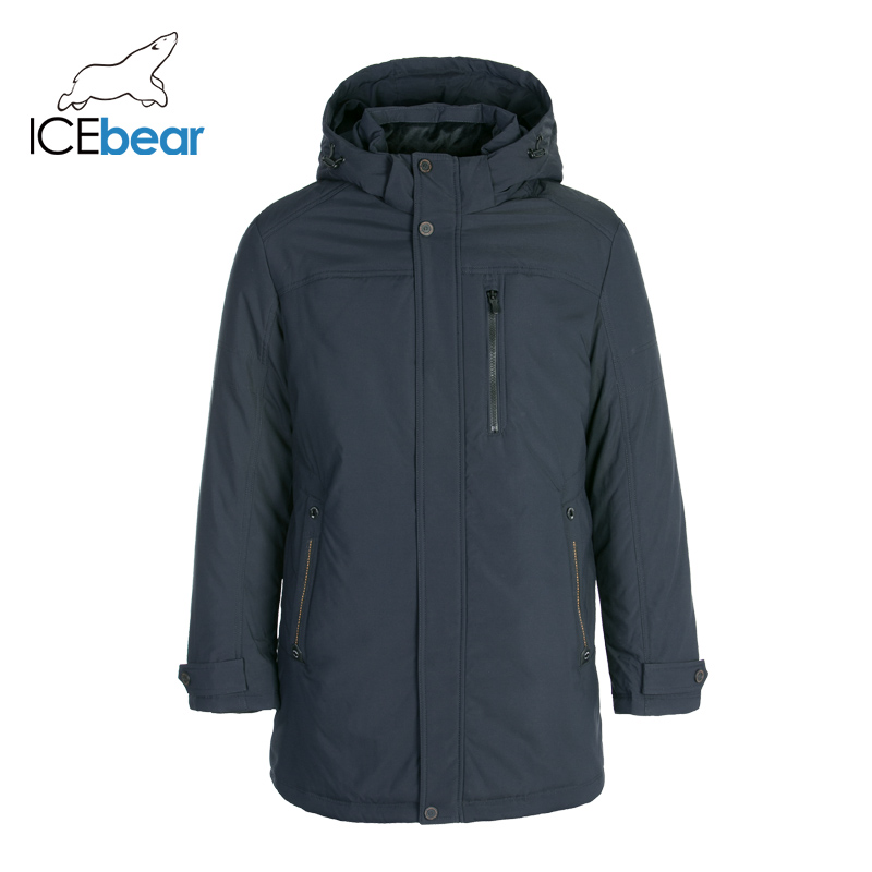 ICEbear 2019 New Winter Men's Down Jacket Plus Size Winter Jackets Fashion Male Outerwear Brand Clothing YT8117020