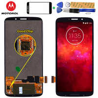 Motorola 6.01 inch LCD Display For MOTO Z3 Play XT1929 Touch Screen Digitizer Assembly 2160*1080 Free Tempered Glass and Tools