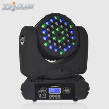 Moving Head Light 36X3W Rgbw Beam With Dmx Control For Party Dj Disco Lights