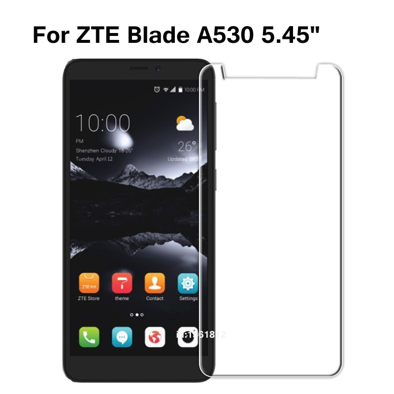 ZTE Blade A530 Tempered Glass 9H High Quality Protective Film Screen Protector Phone Cover Glass For ZTE Blade A 530 5.45 Inch